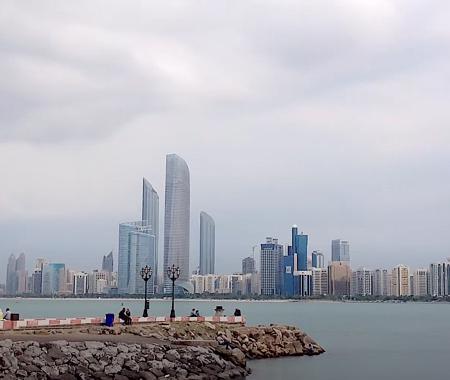 ABU DHABI BREAKWATER