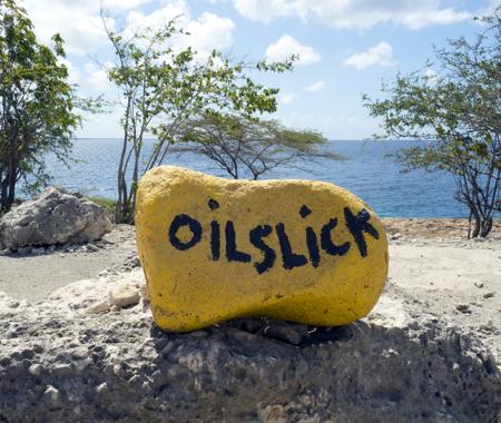 OIL SLICK LEAP